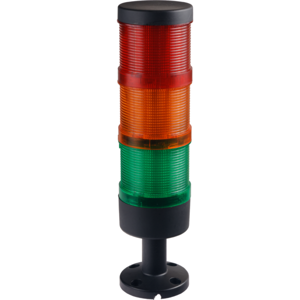 Signal tower 70 mm, complete, red/yellow/green LED