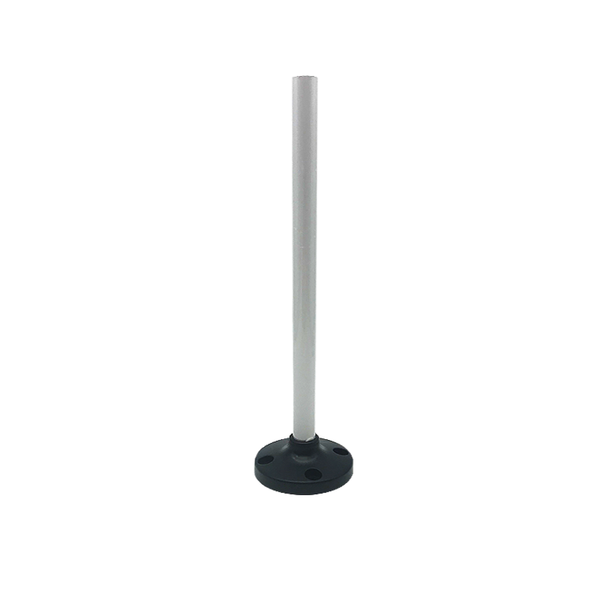 Aluminium base with a stand for signal tower LT70
