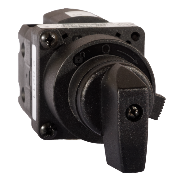 SK10G P22 Cam switch, panel-mounted in ø22 opening, knob-operated